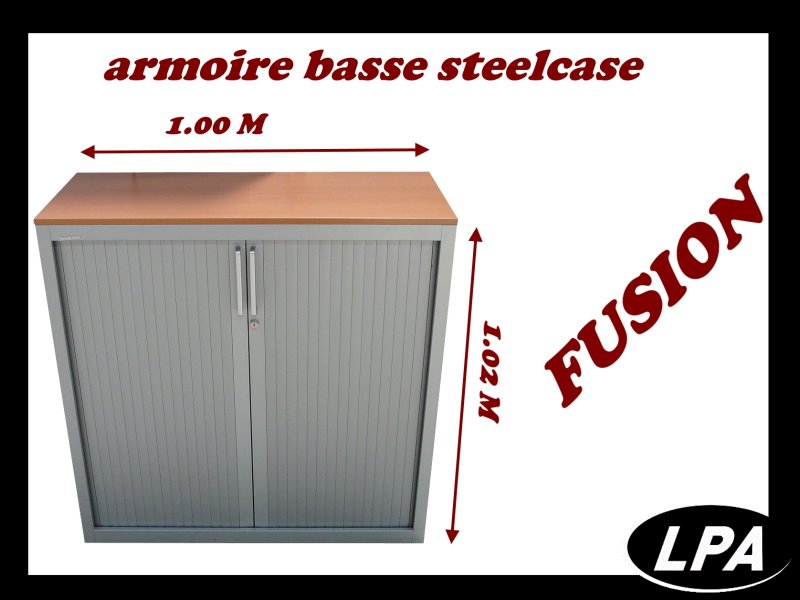 Armoire Basse Armoire Basse Fusion Steelcase 1