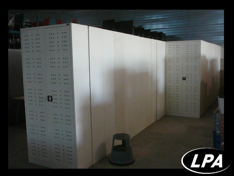 armoire m tallique portes battantes armoire haute armoires lpa. Black Bedroom Furniture Sets. Home Design Ideas