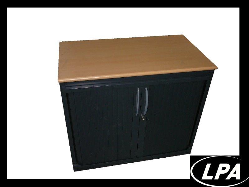 Armoire metallique occasion for Petite armoire de bureau