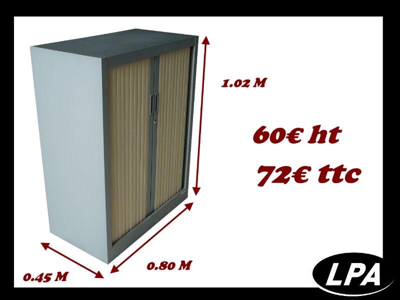 armoire m tallique basse arf o pas cher armoire basse. Black Bedroom Furniture Sets. Home Design Ideas