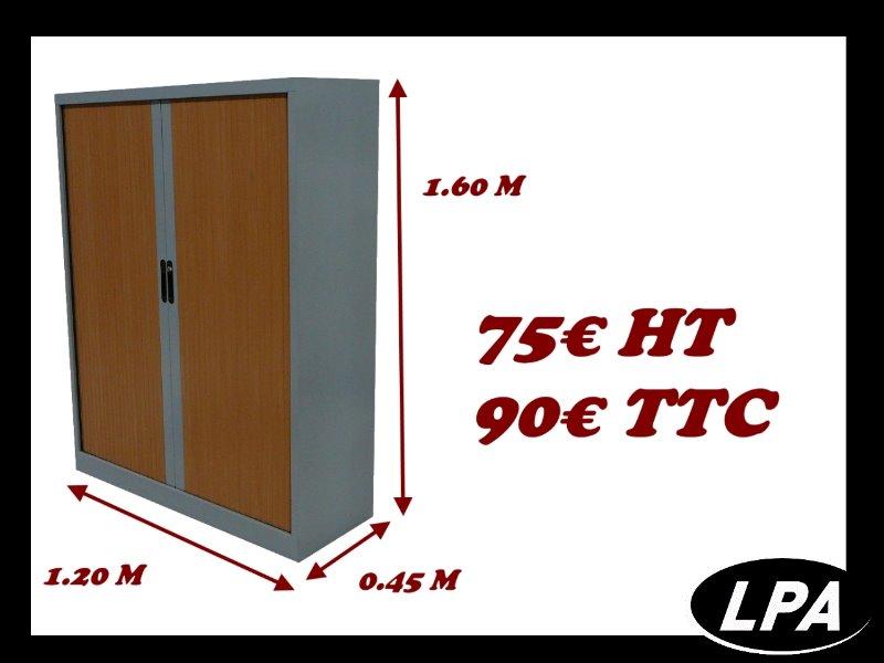 armoire m tallique mi hauteur pas cher armoire mi haute armoires lpa. Black Bedroom Furniture Sets. Home Design Ideas