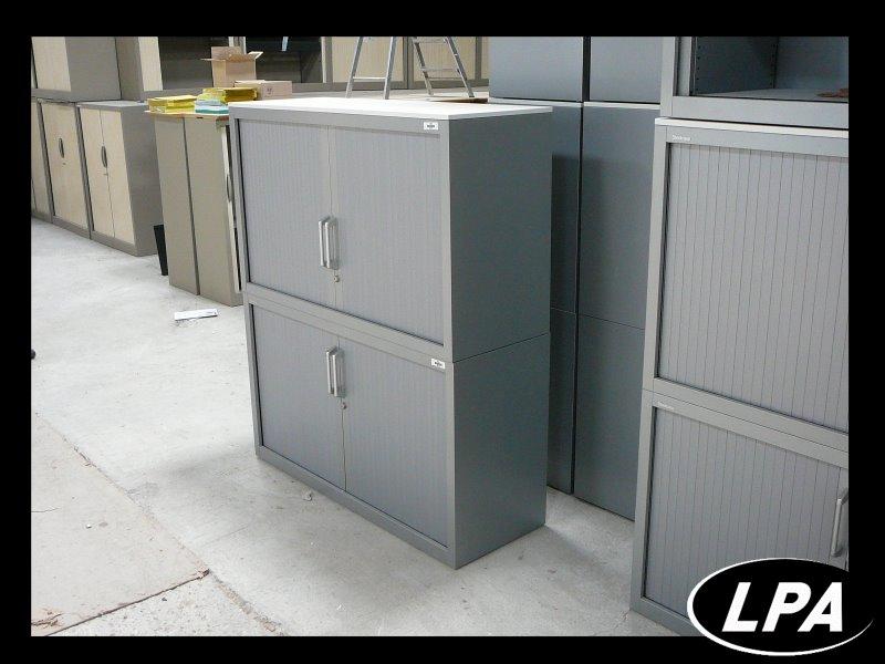 armoire double corps steelcase grand mod le armoire mi. Black Bedroom Furniture Sets. Home Design Ideas