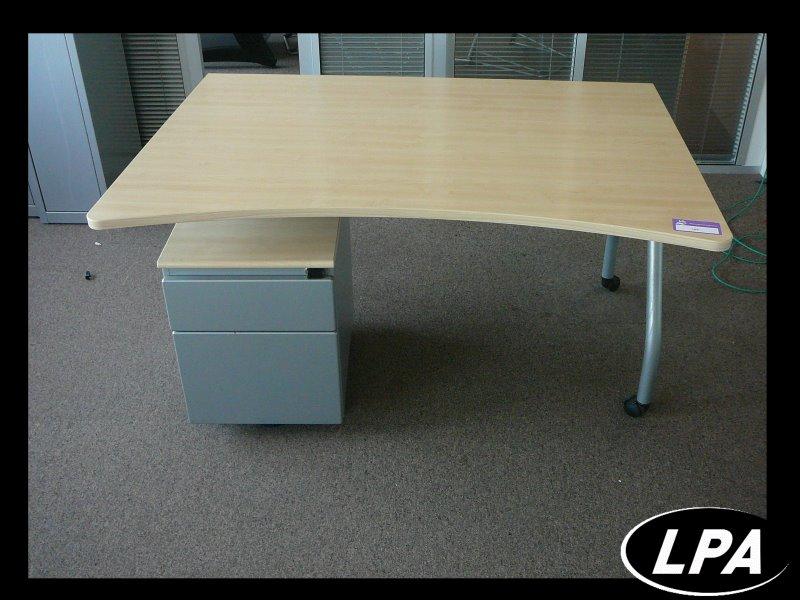 Bureau plus caisson werndl bureau mobilier de bureau : lpa