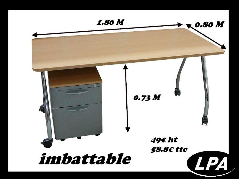 Bureau prix discount bureau mobilier de bureau lpa for Prix mobilier de bureau