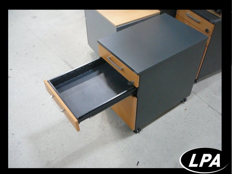 Caisson kinnarps 3 tiroirs caisson mobilier de bureau for Mobilier bureau occasion 64