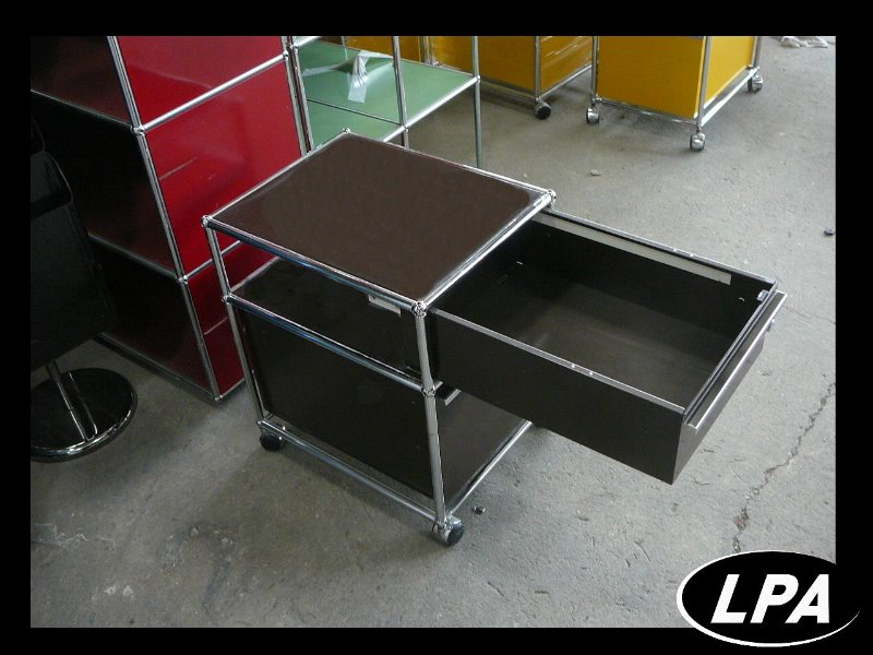 caisson roulette usm haller mobilier design mobilier de bureau lpa. Black Bedroom Furniture Sets. Home Design Ideas
