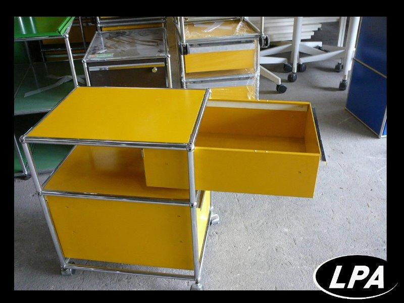 Caisson usm haller mobilier design mobilier de bureau for Bureau usm haller