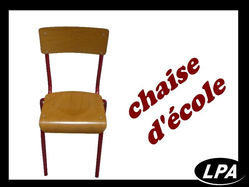 chaise d 39 cole pas cher chaise mobilier de bureau lpa. Black Bedroom Furniture Sets. Home Design Ideas