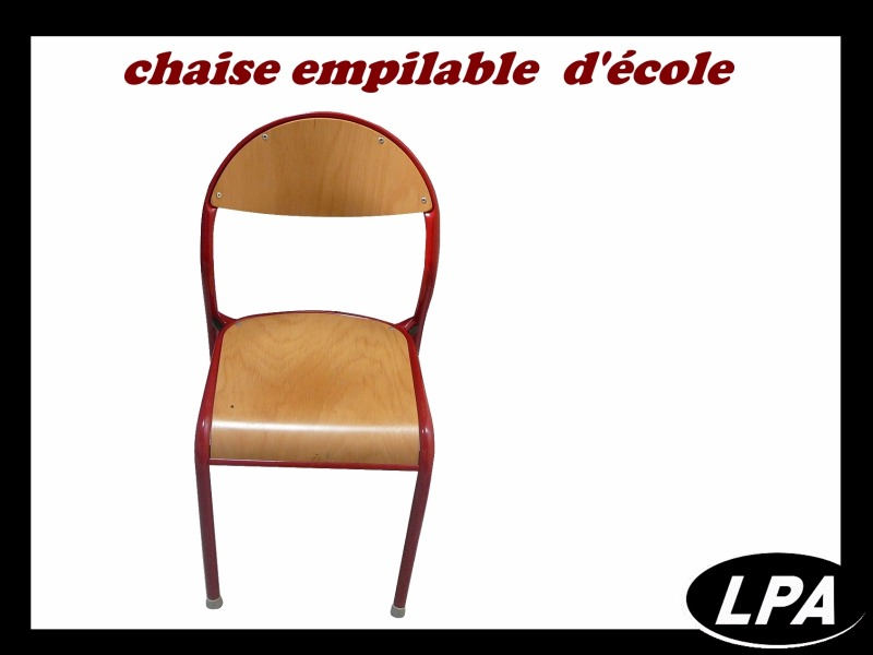 Chaise Chaise Empilable D'école 1