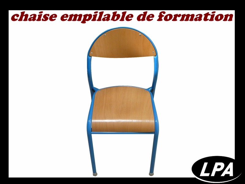 Chaise Chaise Formation Empilable 1