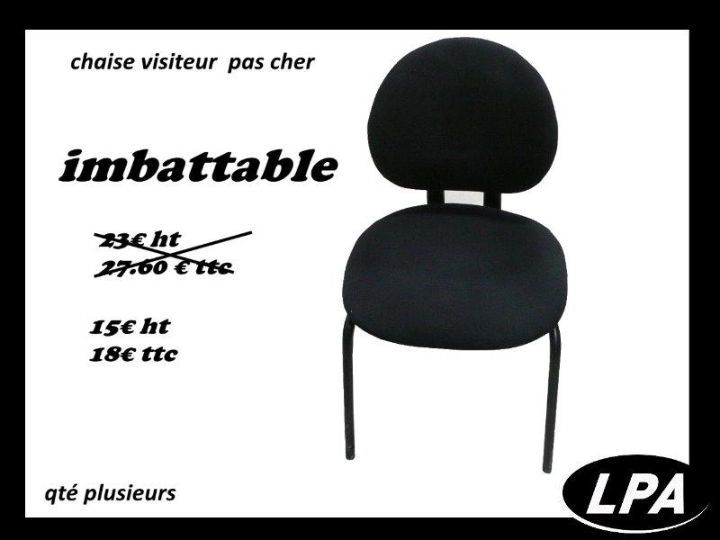 chaise visiteur pas cher chaise mobilier de bureau lpa. Black Bedroom Furniture Sets. Home Design Ideas