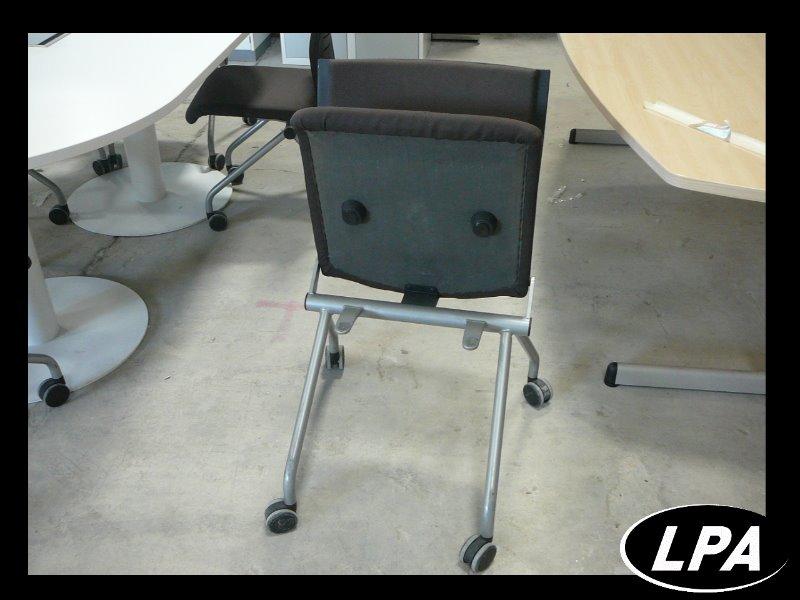 Chaise visiteur please 2 steelcase pliante chaise for Meuble bureau jec