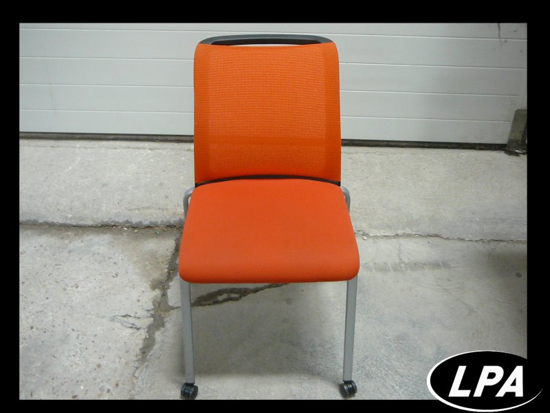 Chaise Chaise Visiteur Steelcase Reply Air Orange 2