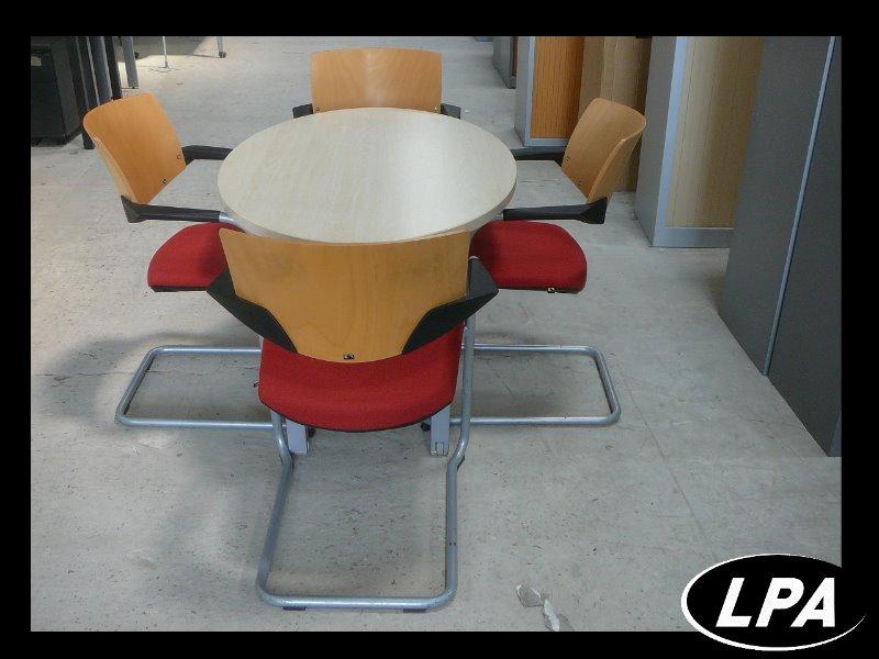 ensemble table de r union pas cher table de r union mobilier de bureau lpa. Black Bedroom Furniture Sets. Home Design Ideas