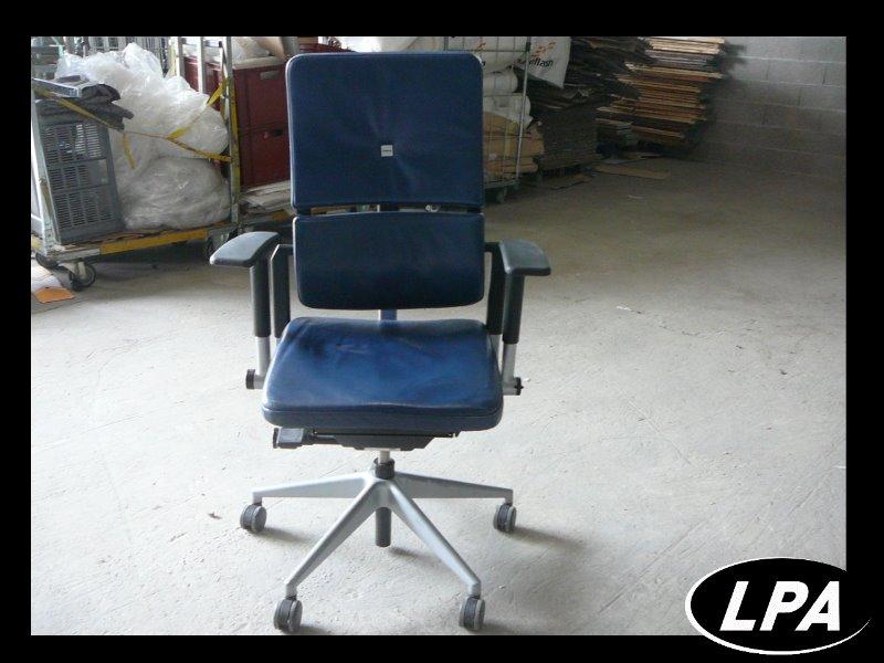 Fauteuil direction cuir steelcase please 2 fauteuil mobilier de bureau lpa - Fauteuil de bureau steelcase ...