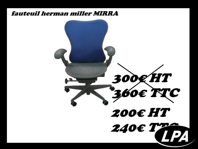 Fauteuil Herman Miller Mirra 1