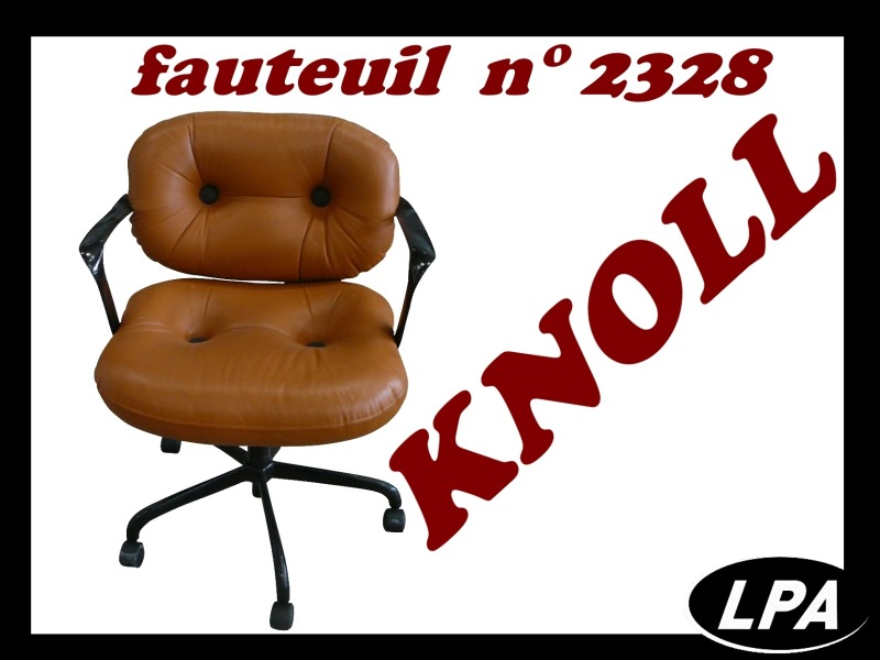 Mobilier Design Fauteuil N° 2328 Knoll International  1