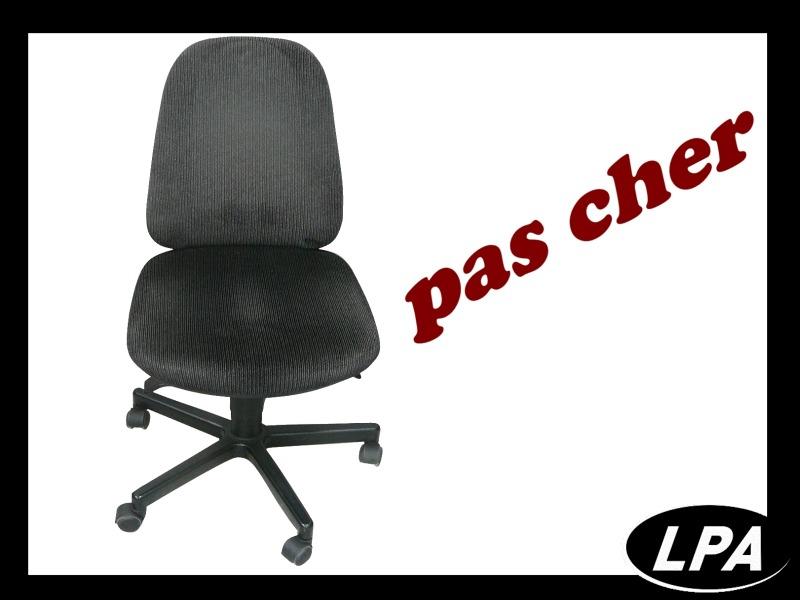 Fauteuil noir velours pas cher fauteuil mobilier de - Fauteuil bureau pas cher ...