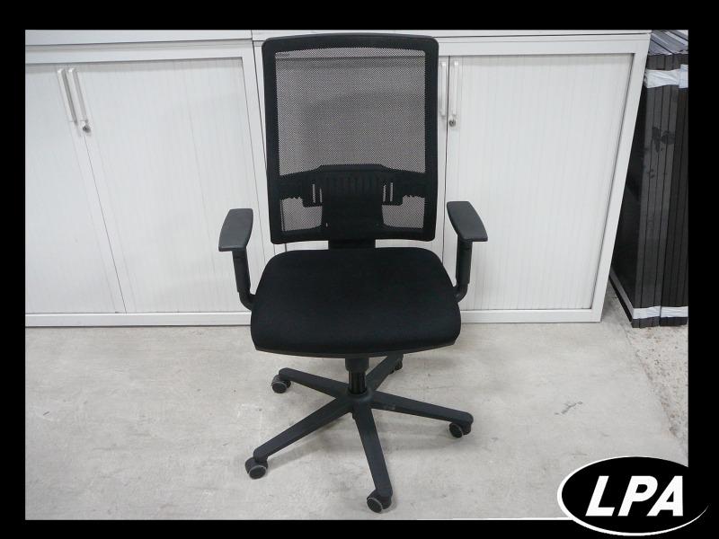 Fauteuil résille noir pas cher fauteuil mobilier de bureau lpa