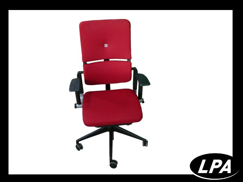 Fauteuil Fauteuil Steelcase Please 2 Rouge 1