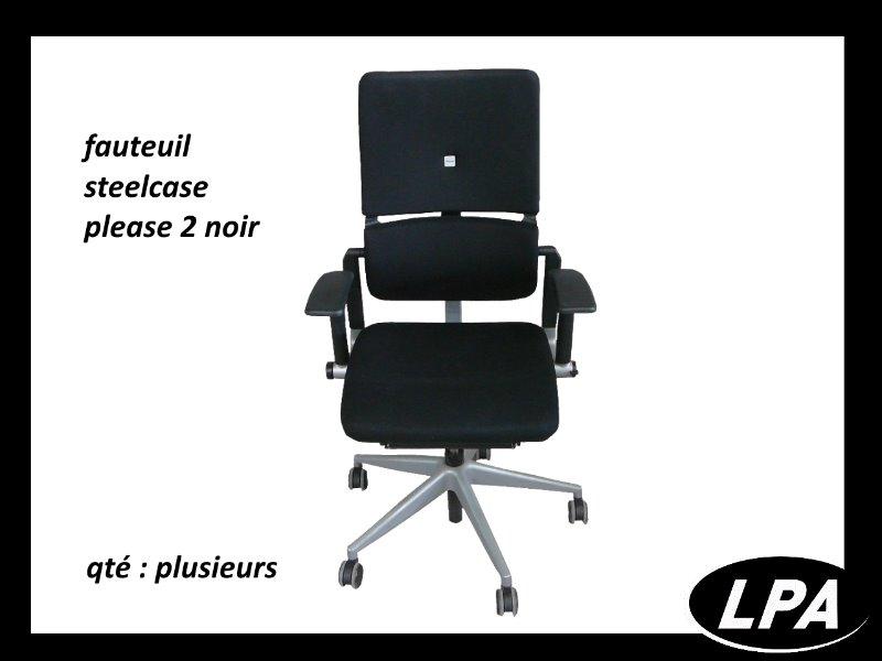 Fauteuil steelcase please 2 fauteuil mobilier de bureau lpa - Fauteuil de bureau steelcase ...