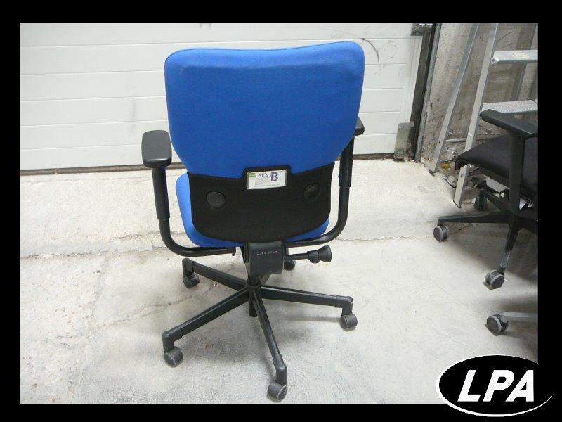 Fauteuil steelcase bleu let 39 s b pas cher fauteuil mobilier de bureau lpa - Fauteuil de bureau steelcase ...