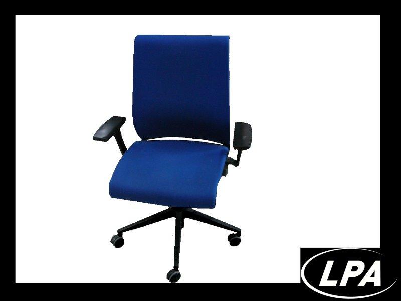 Fauteuil steelcase think bleu fauteuil mobilier de bureau lpa - Fauteuil de bureau steelcase ...