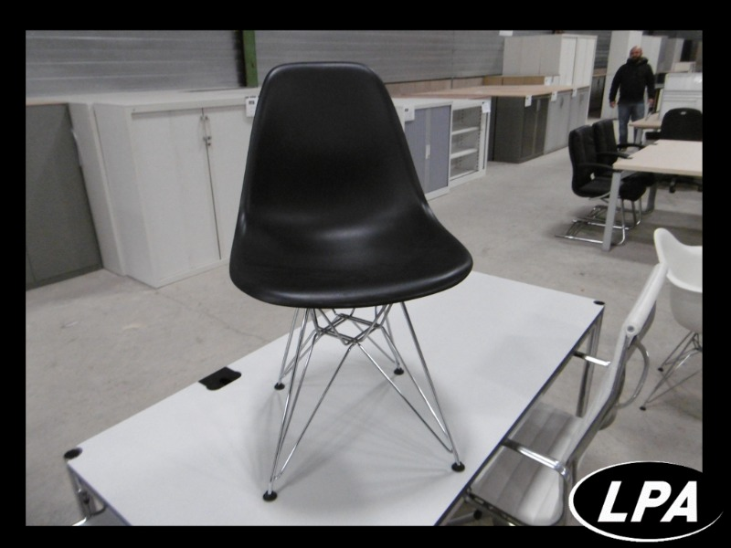 Chaise Chaise Eames  Dsr Gris Anthracite 1