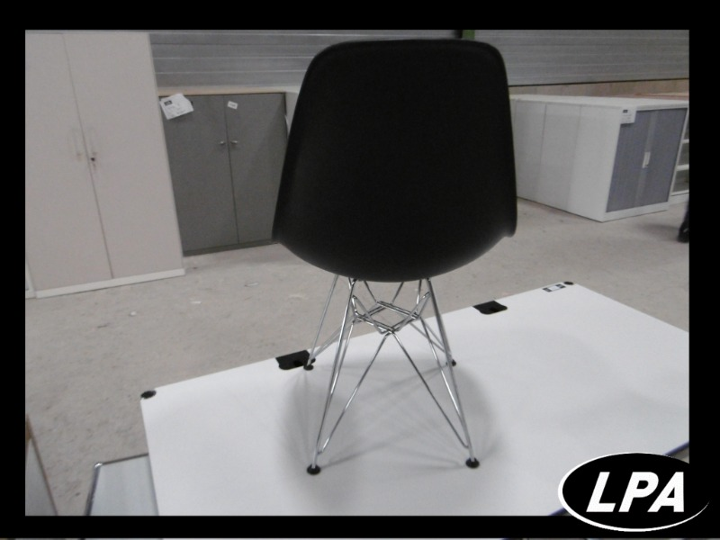 Chaise Chaise Eames  Dsr Gris Anthracite 3
