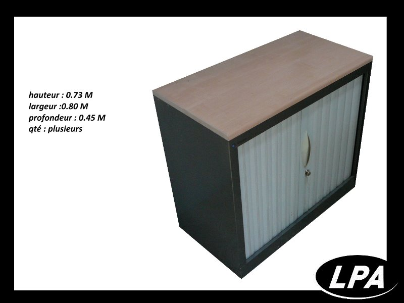 armoire m tal basse sansen cr dence armoires lpa. Black Bedroom Furniture Sets. Home Design Ideas