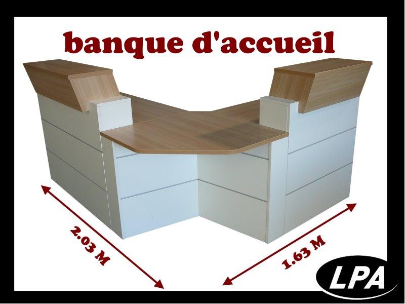 Banque d 39 accueil banque d 39 accueil mobilier de bureau lpa - Bureau banque d accueil ...