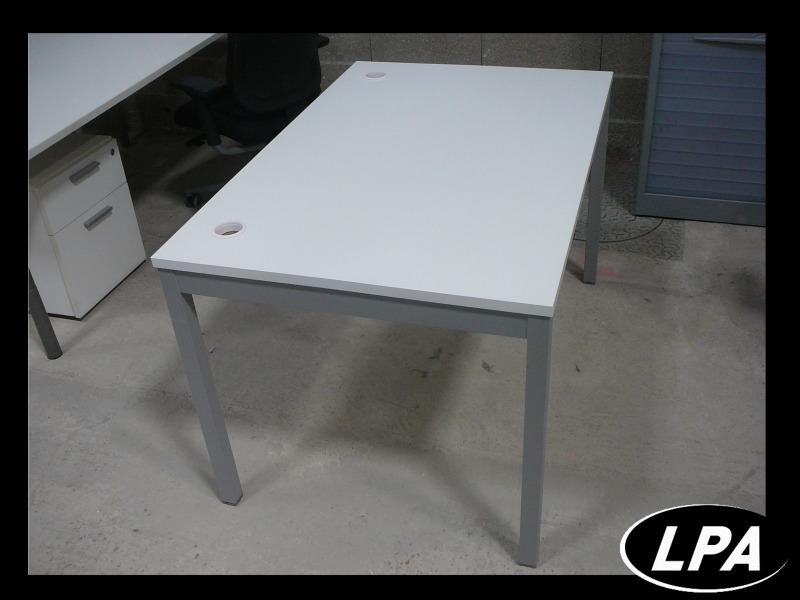 Petit bureau blanc professionnel bureau mobilier de bureau : lpa