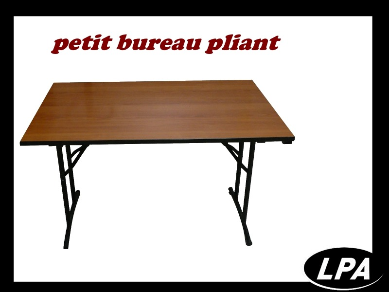 petit bureau pliant bureau mobilier de bureau lpa