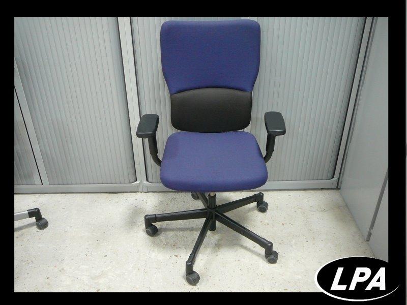 Fauteuil ergomonique steelcase let 39 s b bleu fauteuil mobilier de bureau lpa - Fauteuil de bureau steelcase ...