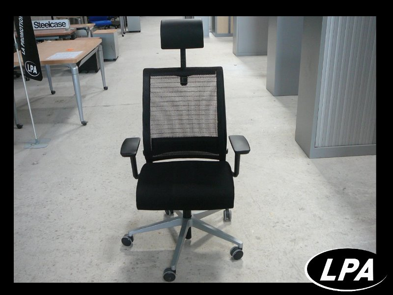 Fauteuil direction steelcase think fauteuil mobilier de bureau lpa - Fauteuil de bureau steelcase ...