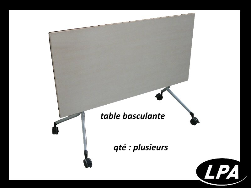 table pliante et basculante Table Basculante  1
