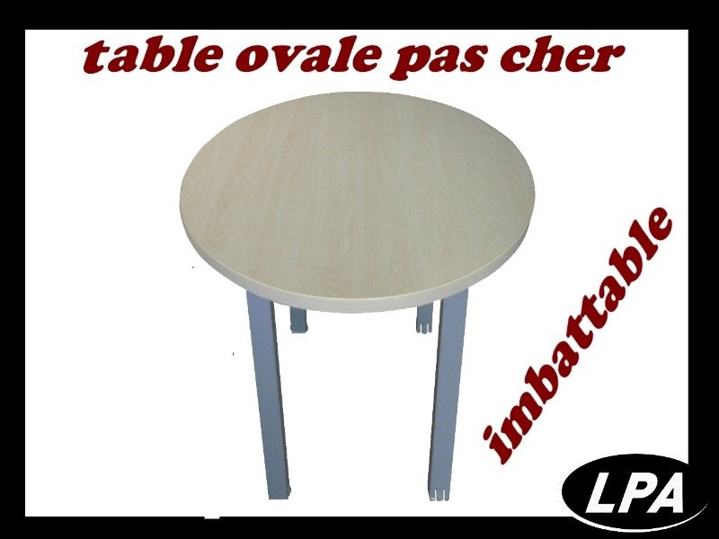 Table Table Ovale Pas Cher 1
